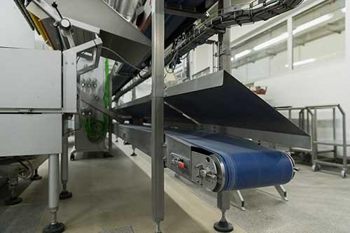 Transport--und-Prozessbänder